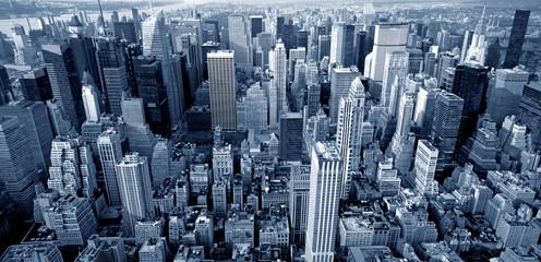 Widok z góry Manhattanu