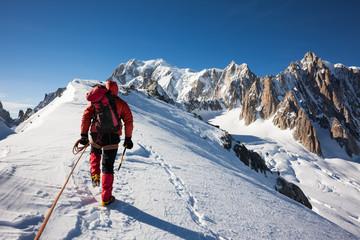 Przedsiębiorczość, staranność, praca zespołowa: koncepcje alpinizmu.