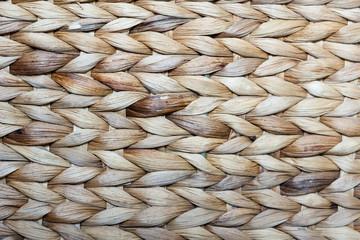 wicker basket close-up