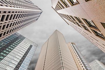 Skyscrapers under sky