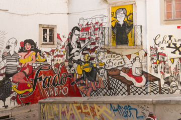 street art in lisbona