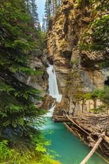 Johnston canyon Lower Falls Canada