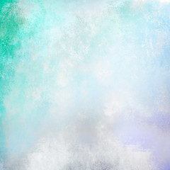 Cyan grunge background