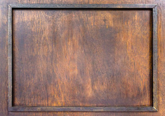Natural wood background Distressed wood frame