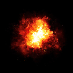 explosion fire
