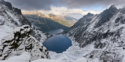 Tatra National Park, Black Pond and Marine Eye