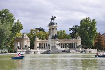 The Retiro Park in Madrid