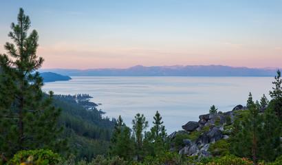 Lake Tahoe - Dawn Light