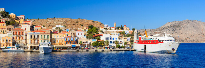Symi Ferry Greece