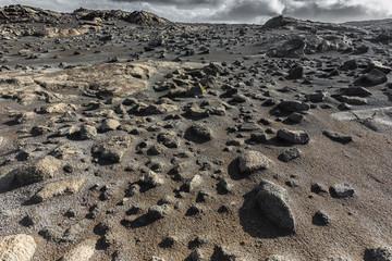 Skała i piasek