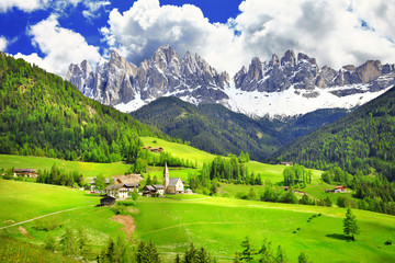 Dolomites - wonderland in Alps