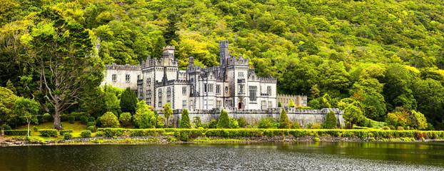 Irlandia, Kylemore Abbey - panorama
