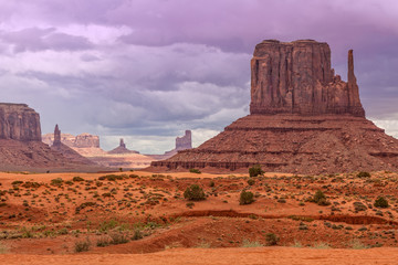 Krajobraz Monument Valley