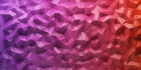 3d Polygon Hintergrund - 3d Polygyon Vector