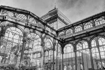 Detalle del Palacio de Cristal