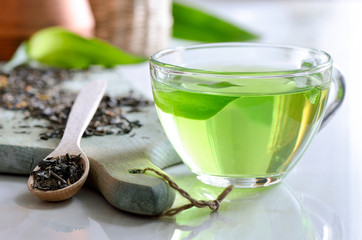 Zielona herbata spa
