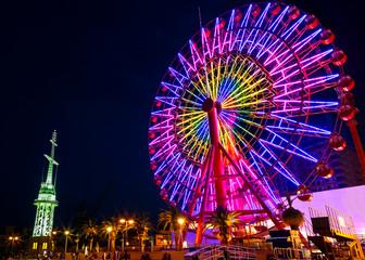 Ferris Wheel at Kobe Port