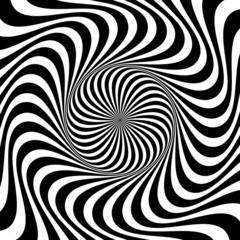 Mieszając tło. Abstrakcyjne kształty tworzące zjawisko wirowe.