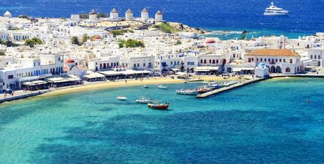 Wyspa Mykonos w Grecji Cyklady