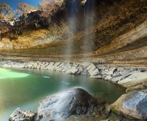 Cascada de Hamilton pool