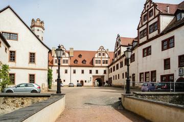 Romantisches Schloss in Glauchau