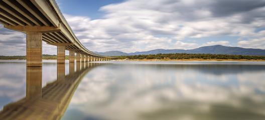 Bridge Valmayor. Madrid. Spain