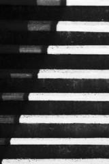 abstrakcja z cieniami na schodach