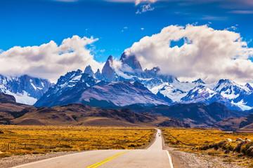 The highway crosses Patagonia