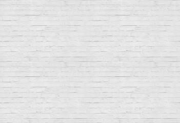 Bezszwowy biały ściana z cegieł wzoru tło