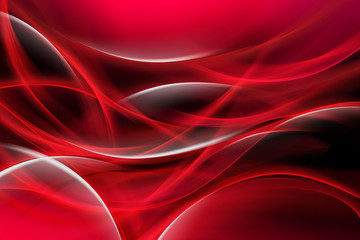 Red Bright Waves