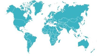 mapa świata 19062015