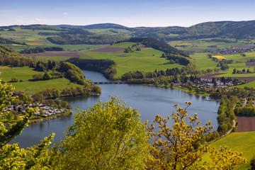 Heringhausen und Stormbruch am Diemelsee