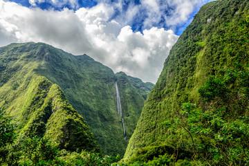 Cascade blanche, wyspa Reunion