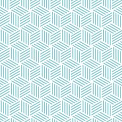 Cube light pattern background. Vector background bleu green
