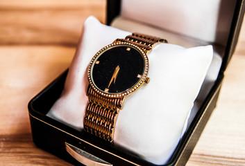 Womens Golden Watch