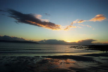 Evening at Silver Strand, Co. Galway, Ireland.