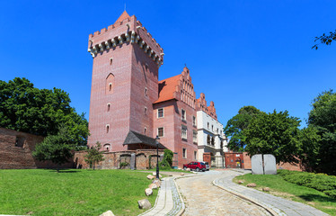 Poznań, stare miasto- Zamek Królewski po odbudowie