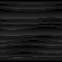 Bezszwowe ciemne tło streszczenie fal.