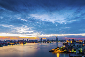 the city of Kaohsiung - Taiwan