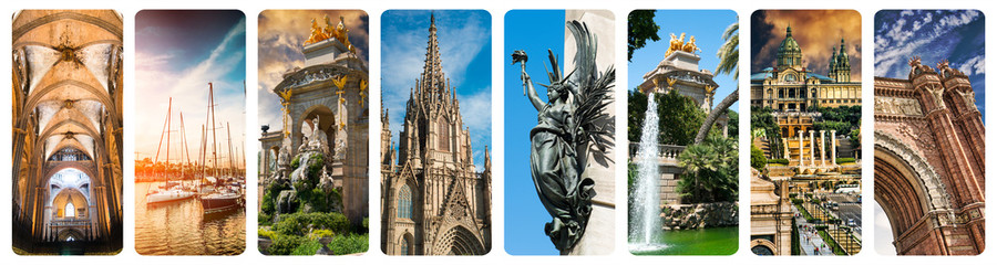 Historical views of Barcelona