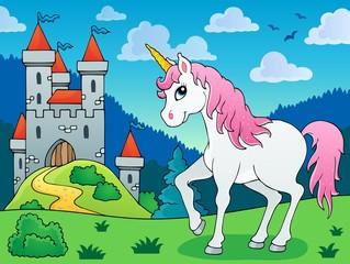 Fairy tale unicorn theme image 5