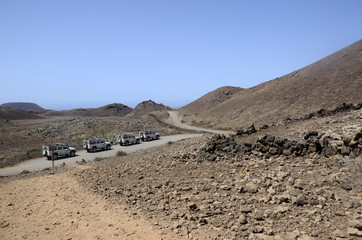 Safari off road à Fuerteventura