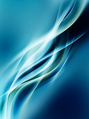 abstraction blue waves background