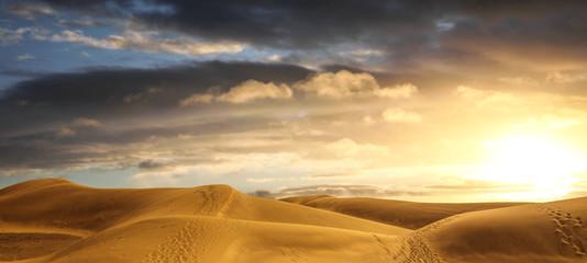 alba sul deserto