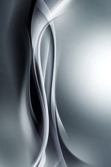 abstract gray waves background