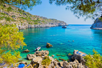 Anthony Quinn Bay Rhodes Grecja