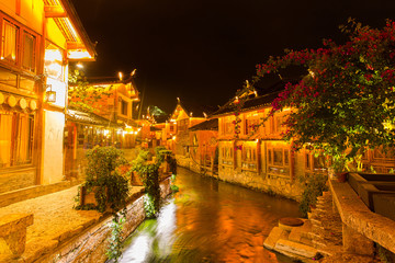 Lijiang old town in Yunnan, China