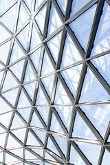 Moderne Glasfront