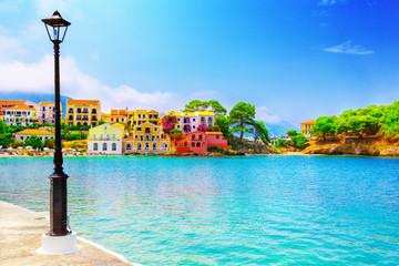 Assos village on Kefalonia island, Greece