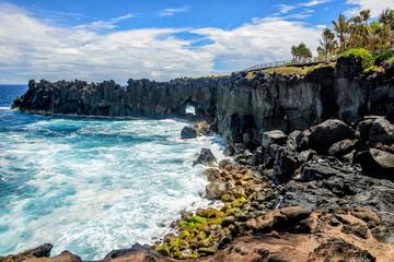 Cap méchant, a cape in la Reunion island